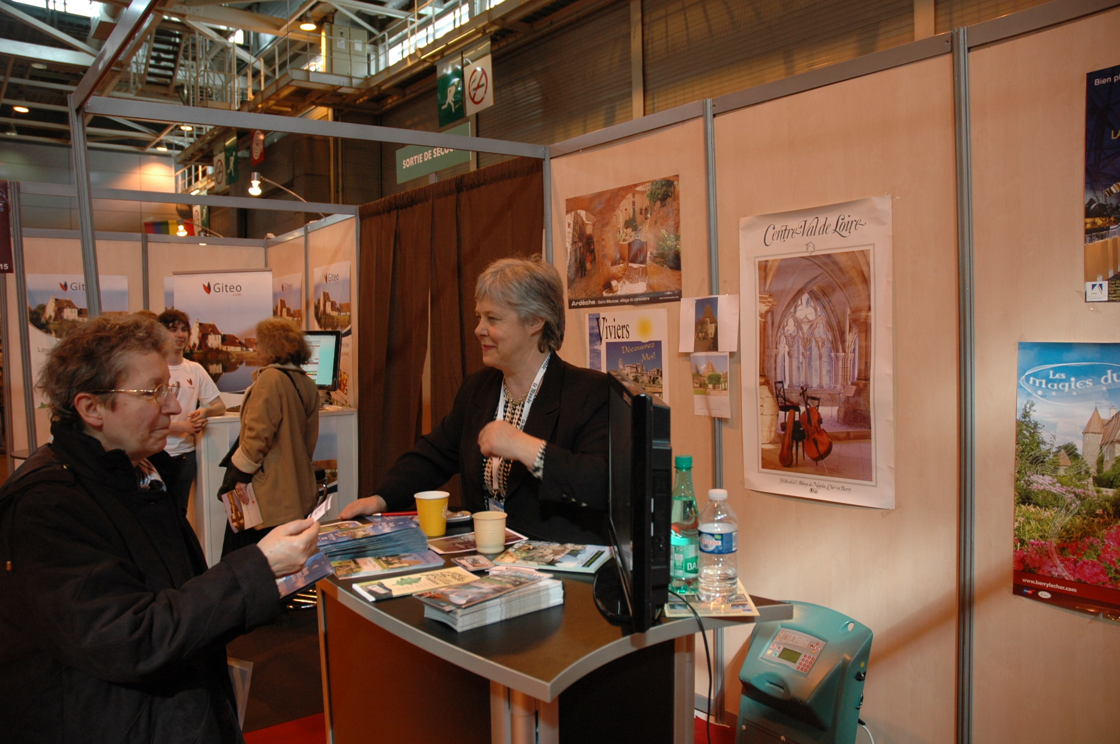 Map salon du tourisme paris association touristique - Salon tourisme paris ...