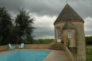 tour ronde & piscine