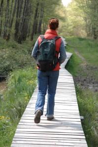 walking backpack st bonnet pond