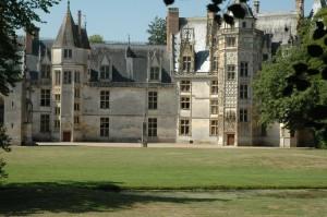 vue du château Parc