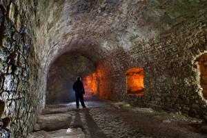 la forteresse de Montrond - St Amand