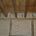 murs et plafonds à colombage
