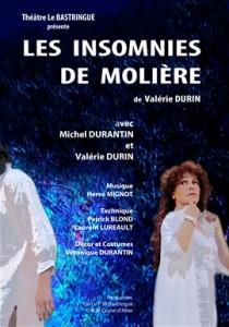 les insomnies de Molière, spectacle au canal de Berry